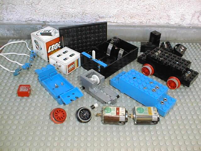 Lego motor set